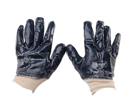Nitril gecoate handschoenen