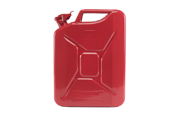Jerrycan staal 20ltr.