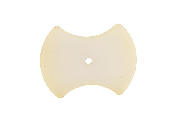 Rubber centreerpen droogboor baksteen